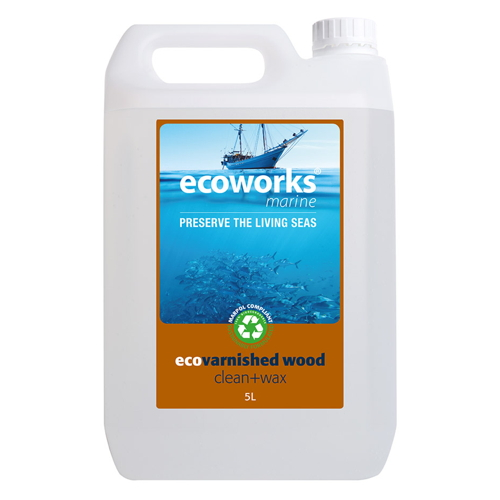 ECOVARNISH CLEANER AND WAX 5 LITER