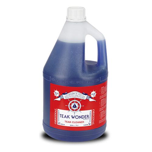 TEAK WONDER CLEANER, 4LTR FLES