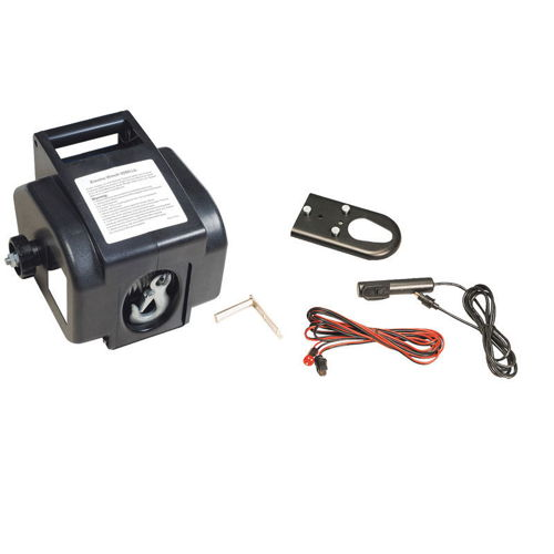 Electric Winch, AnchorWinch, 12V, 2000lg