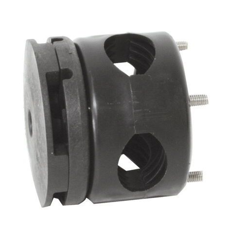 Set of connector & rail support for fens