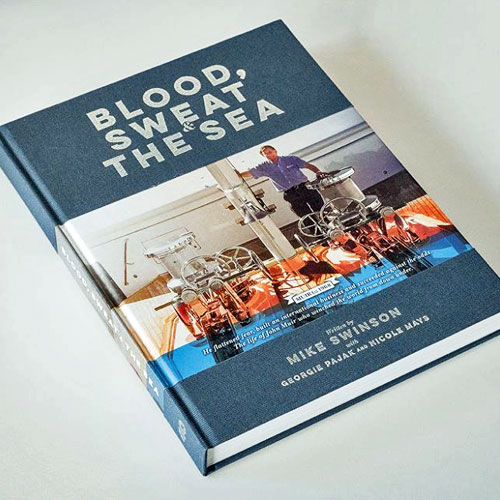 BLOOD, SWEAT AND THE SEA BOOK